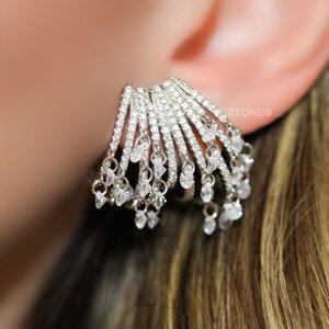Ear Cuff Multi Aros Dangle