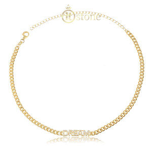 Choker Corrente Dream Gold