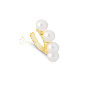 Piercing Falso Pearls Large Gold (unidade)