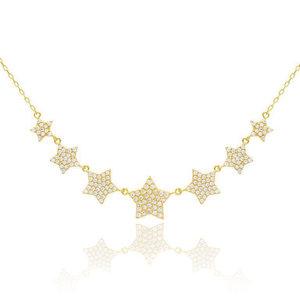 Gargantilha 7 Stars Gold