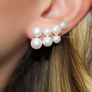 Ear Cuff Pearls Luxo