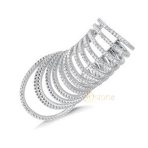 Piercing Falso Multi Aros Luxo Supreme (unidade)