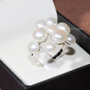 Anel Multi Pearls