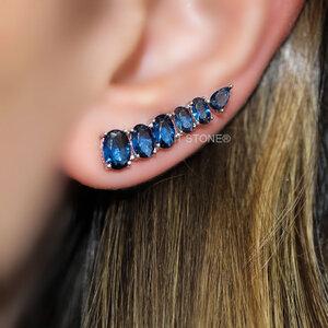 Ear Cuff Ovais Safira
