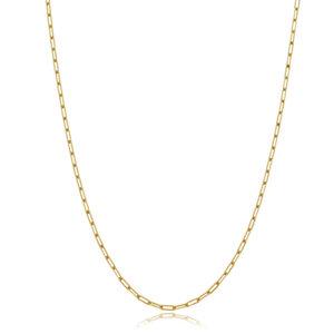 Colar Corrente Cartier Longo Gold