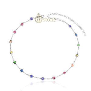 Choker Tiffy Luxo Rainbow