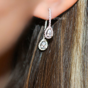 Ear Jacket Trace Gotas Luxo
