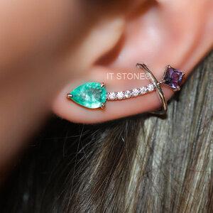 Ear Cuff Gota Losangle