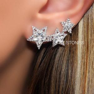 Ear Cuff Stars Light