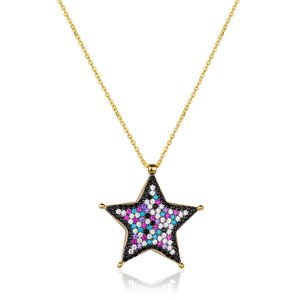 Colar Star Colors Gold