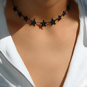 Choker Black Stars Negra
