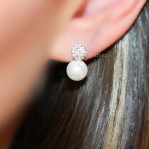 Brinco Botton Luxury Pearl