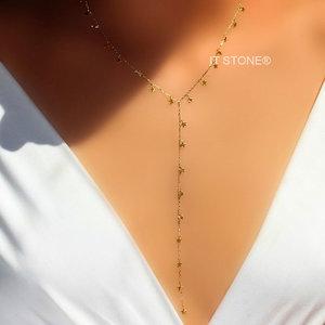 Colar Gravatinha Star Gold