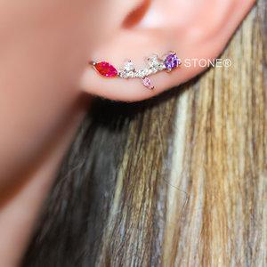 Ear Cuff Garden Colors