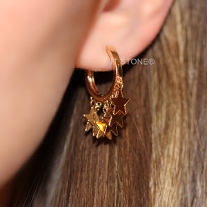 Argolinha Stars Gold