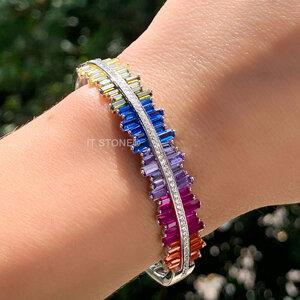 Bracelete Crazy Baguetes Rainbow