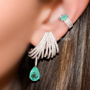 Ear Hook Fascinate Supreme Esmeralda Colombiana Fusion