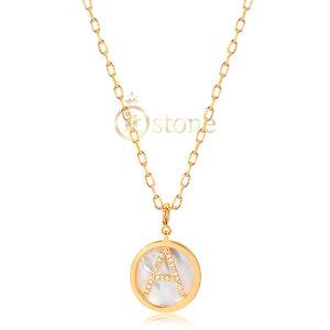 Colar Inicial Madre Pérola Gold (Escolha a sua)