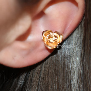 Piercing Falso Flower Gold (unidade)