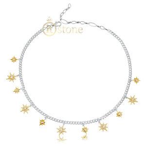 Choker Luxury Stars Gold