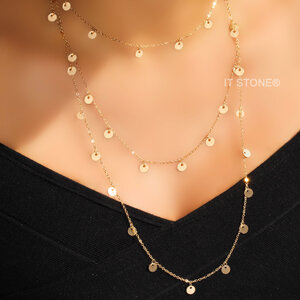 Choker Plaquet Gold