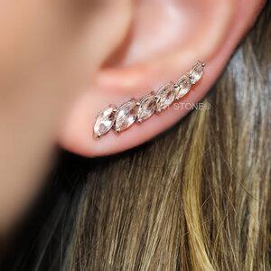 Ear Cuff Navetes Morganita