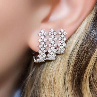 Ear Cuff Mesh Luxo