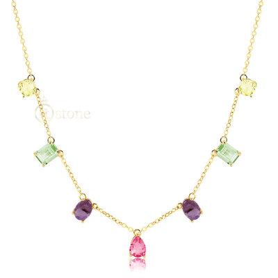 Colar Pedras Colors Jasmine