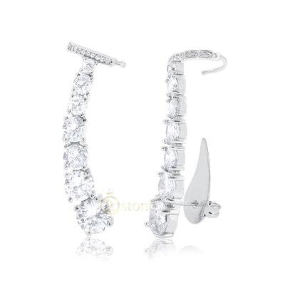 Ear Cuff Crystals Luxo