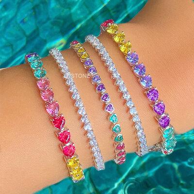 Pulseira Riviera Hearts Colors