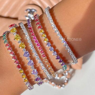 Pulseira Riviera Little Hearts Rainbow