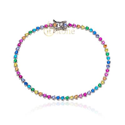 Pulseira Riviera Luxo Rainbow