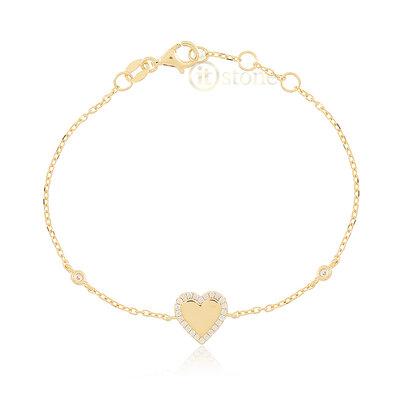 Pulseira Heart Gold