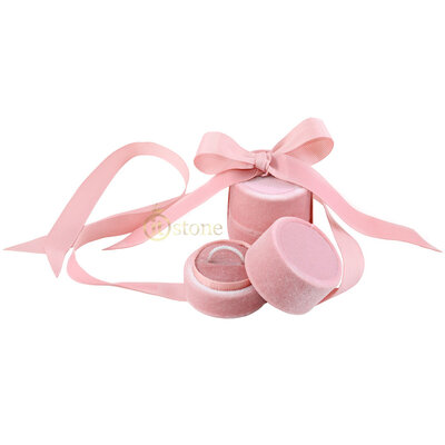 Embalagem Luxo para Anel - Rosa