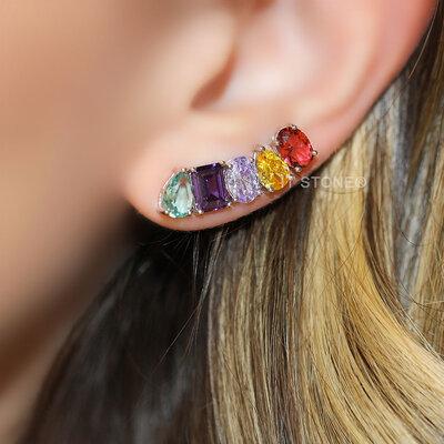 Ear Cuff Stephanie Colors Luxo