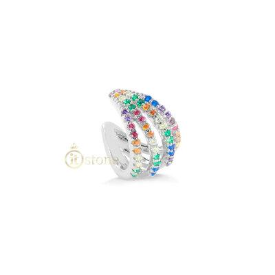 Piercing Falso Cramp Rainbow (unidade)