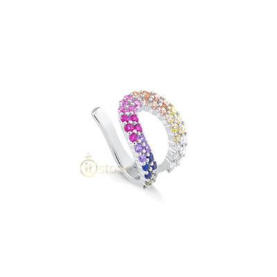 Piercing Falso Craving Vazado Luxo Rainbow (unidade)