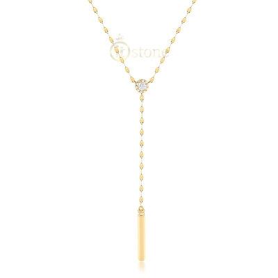 Colar Gravatinha Shiny Gold Luxo
