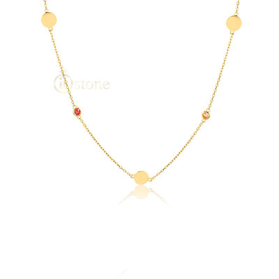 Choker Dots and Colors Gold