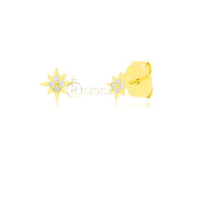 Brinco Segundo ou Terceiro Furo Mini Syrius Gold