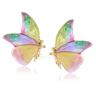 Brinco Butterfly Deluxe Tie Dye Glam