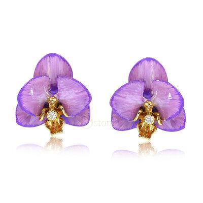 Brinco Orquídea Saint Germain