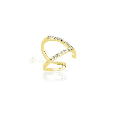 Piercing Falso Vazado Gold (unidade)