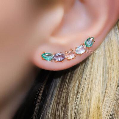 Ear Cuff Alicia Colors