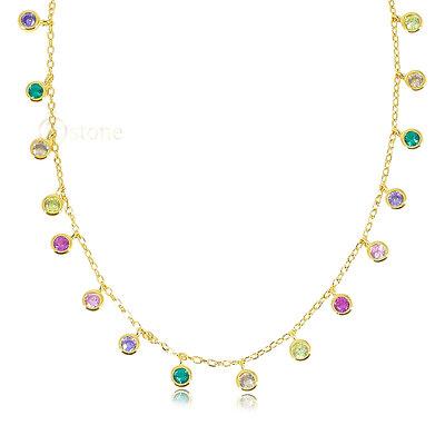 Gargantilha Luxe Lights Rainbow