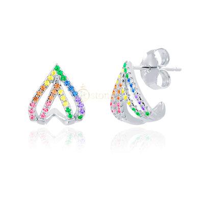 Brinco Luxury Hyde Rainbow