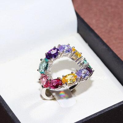 Anel Aurora Colors Luxo