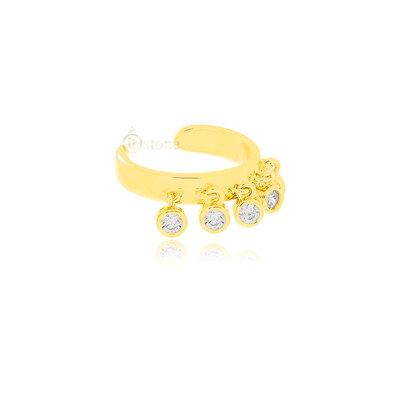 Piercing Falso Tiffy Gold (unidade)
