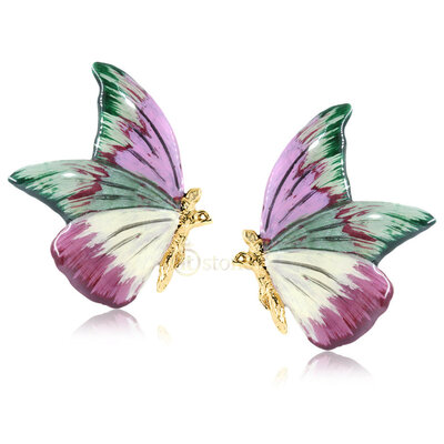 Brinco Butterfly Deluxe Faux
