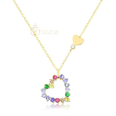 Colar Sweet Heart Colors Gold